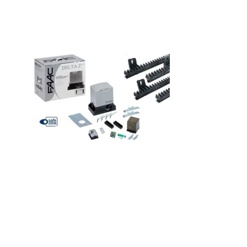 faac delta 2 740 kit 4 m tres cr maill re nylon automatisation portail coulissant fpm elettronica. Black Bedroom Furniture Sets. Home Design Ideas