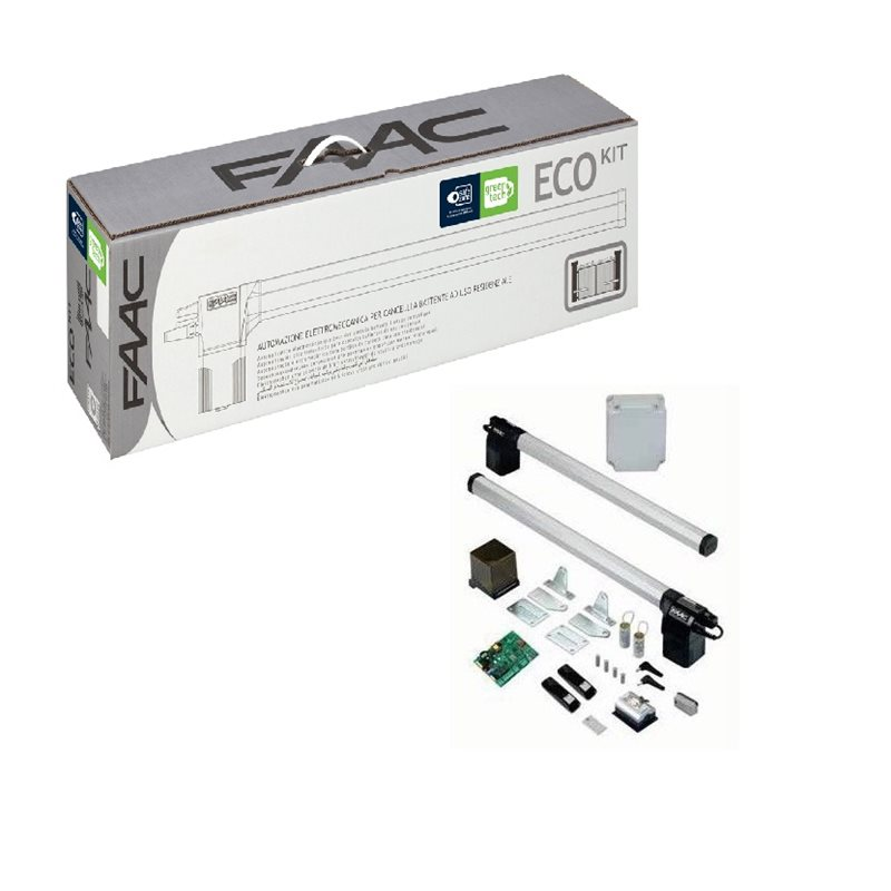 Faac 105632445 eco kit green automatisation for Faac eco kit