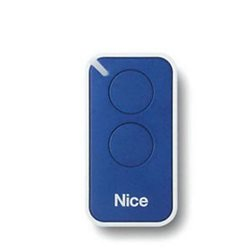 INTI2B NICE GATE AUTOMATION TRANSMITTER 2 CHANNELS 433,92MHz COLOR BLUE