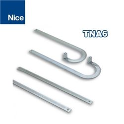 NICE TNA6 GATE AUTOMATION PAIR OF STANDARD CURVED TELESCOPIC ARMS