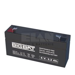 00603 Lead-acid battery 6V 3,2Ah