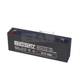 01202 Lead-acid battery 12V 2,0Ah