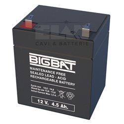 01204 Lead-acid battery 12V 4,5Ah