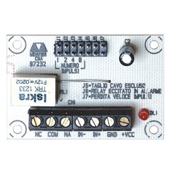 COOPER 471-A pulse processing board for roller contact model 471 BURGLAR ALARM